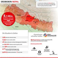 Infografik Erdbeben Nepal 5. Mai 2015