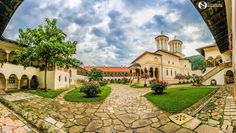 Early morning in Hurezi (Horezu) Monastery. Early Morning, Romania, Beautiful Places, Construction, Mansions, Architecture, House Styles, Faith, Home