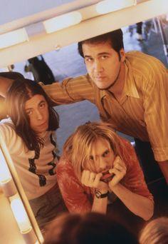 Krist Novoselic, Dave Grohl, Kurt Cobain #Nirvana - October 1993