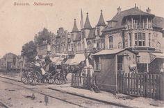 Wandelen over de stationsweg in het oude Bussum uit de verzameling van Frans Roeten - Hans Roeten - Picasa Webalbums