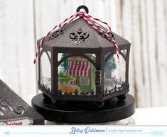 Sweet Shoppe Christmas Ornament by Betsy Veldman for Papertrey Ink (September 2015)