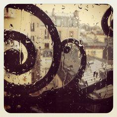 Paris. Rain. Today. Montmartre. Spring is . . . where?