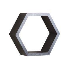 Hex Wall Shelf Kit- Black