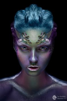 Costume makeup by Lev Savitskiy