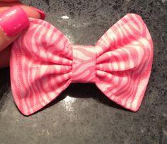 DIY fabric bow !! Yip yip !!