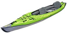 Advanced Elements AE1007-R Convertible Inflatable Kayak, Green