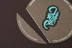 27+ Best Circular Business Cards For Creative Designers