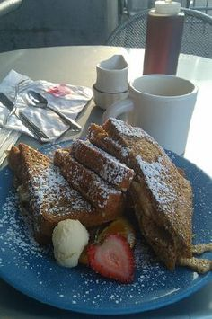 Peanut Butter and Banana Stuffed French Toast- from Cafe 222 on Food ...