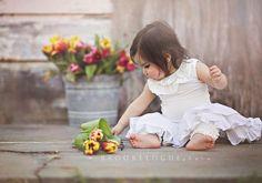 @Heather Creswell Creswell Creswell Tate I like the galvanized bucket with the tulips