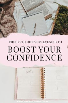 Real confidence doesn't show up overnight, but we can take baby steps to slowly boost our self-esteem and self-love. What you do on a daily basis matters, so we crafted a perfect night self-care routine that will boost you confidence in no time! Bullet Journal Prompts, Self Care Bullet Journal, Healthy Mind, Get Healthy, Building Self Confidence, Make Yourself A Priority, Appreciate Life, Planning Your Day, Go Getter