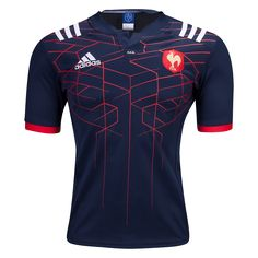 France 16/17 Home Rugby Jersey  |  Shop your favorite national rugby team's jerseys and apparal at WORLDRUGBYSHOP.COM