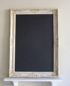 RUSTIC CHALKBOARD Wedding Chalkboard Sign Framed by ShugabeeLane, $185.00