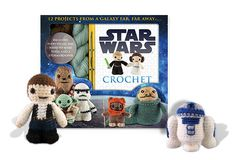 Star Wars Crochet: 12 projects from a galaxy far, far away.