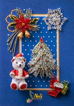 Neli Quilling Art: Children Christmas cards