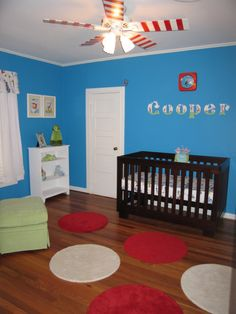 dr seuss baby room ideas | Cooper's Dr. Seuss Nursery - Nursery Designs - Decorating Ideas - HGTV ...