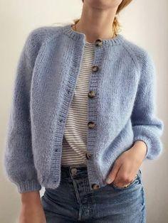 Ladies Cardigan Knitting Patterns, Cardigan Pattern, Top Pattern, Knit Patterns, Long Cardigan, Knit Cardigan, Knit Fashion, Fashion Outfits, Gros Pull Mohair