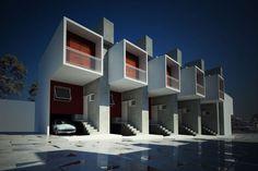 MOMENTOS: Box House - Projeto habitacional de baixo custo alia qualidade construtiva à estética