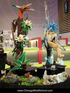 Team UK's showpiece - Coupe du Monde de la Patisserie 2013 - The Chicago School of Mold Making