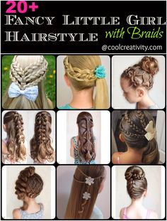 20+ Fancy Little Girl Hairstyle with Braids