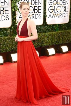 IN or OUT: Amy Adams in Valentino at the 2014 Golden Globe Awards | Tom & Lorenzo Fabulous & Opinionated