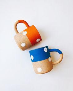⚪️ polka Dots Mugs