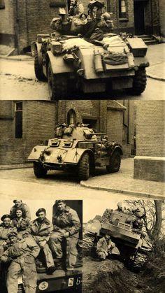 ier een aantal foto's van de bevrijding in Hardenberg ..lang leve de vrijheid... Military Photos, European History, British Army, Armored Vehicles, Skin So Soft, World War Two, Historical Photos, Timeline, Diorama