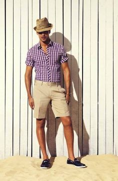 {STYLE INSPIRATION FOR MEN} Men embrace the lighter coloured short this season and team it back with a gorgeous coloured statement shirt!! Caliber Spring-Summer 2013 Collection for Men.