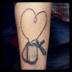 35 Inspirational Dog Tag Tattoo Designs – What Makes Them So Special?