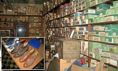 Family unearth a vintage shoe store that was locked up for decades