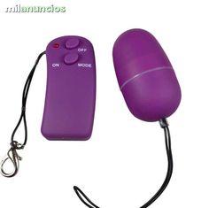 . D-194880 Se trata de un huevo vibrador para estimular, tanto la zona vaginal como la zona anal, controlado por mando a distancia sin cables, de forma que lo puedes accionar a tu voluntad de manera sencilla y discreta, a trav�s del mando a distancia que in