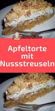 Swiss Recipes, Cream Recipes, Apple Recipes, Baking Recipes, Cake Recipes, Pastry Dough Recipe, Sweet Bakery, Cake & Co, Food Decoration