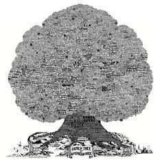 The Family Tree of American Rock   Burton History Trees