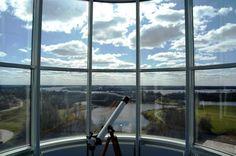 Het uitzicht vanuit het torentje van het Hampshire Hotel - Groningen Plaza.