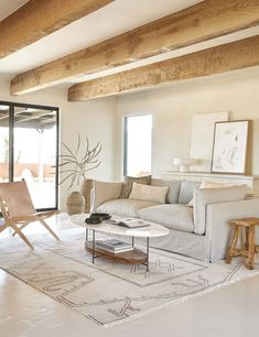 Boho Living Room, Home And Living, Living Room Decor, Living Spaces, Bedroom Decor, Rustic Modern Living Room, Simple Living, Neutral Living Rooms, Earthy Living Room