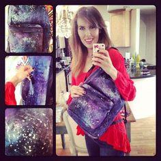 (brittani louise taylor) D.I.Y. Galaxy Backpack!! http://youtu.be/QM1Bf9QZBkc ♥