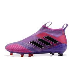 sports shoes 8eb79 9a601 Baratas 2017 Adidas ACE 17 PureControl Purpura Melocoton Rojo Botas De  Futbol