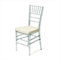 Unique Wedding Chair is beautifully crafted with acrylic and has clear finish that grabbed eyes. It is manufactured with acrylic and has clear finish. Features Materials - Acrylic. Finish - Clear. Dimension - 14.75 L x 16 D x 36 H in. 19 H in. seat. Regular price: $236.34 Sale price: $181.80 You Save $54.54 (23%)