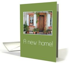 Congratulations on your new home card  Wishing you lots of happiness in your new home!