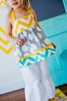 Love this! easy peasy! Hope it's a girl so many cute clothes to make