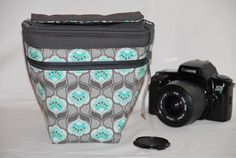 Kameratasche f. Spiegelreflexkamera von EasyDesign auf DaWanda.com