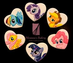 My Little Pony sugar cookies