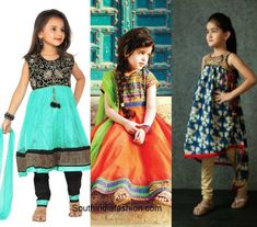 Wedding fashion for kids – A Guide Golden Lehnga, Western Dresses, Half Saree, Wedding Styles, Sarees, Kids Fashion, That Look, Cute, Vintage