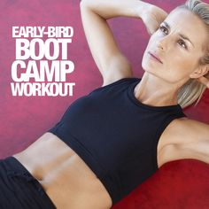 Early-Bird Boot Camp Workout #workout #bootcamp