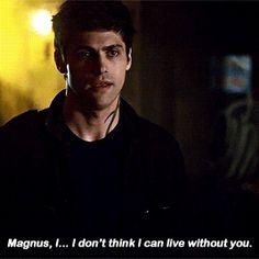 Alec to Magnus