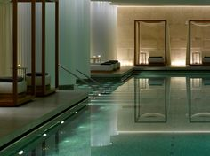 Bulgari Spa at Bulgari Hotel in London...this looks pretty sweet