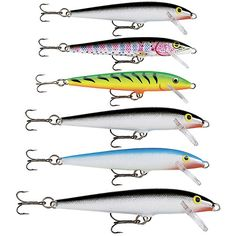 rapala fishing lures color charts | pencil plugs and raps - the, Reel Combo