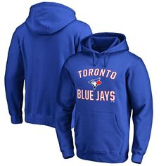 Toronto Blue Jays Victory Arch Big & Tall Pullover Hoodie - Royal