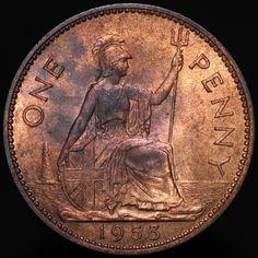 #Coins #Numismatics #KMCoins Old British Coins, Old Coins, Elizabeth Ii, Bronze, Ebay