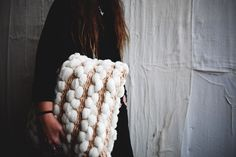 DIY Woven Pillow | Free People Blog #freepeople