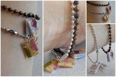 Shrink Art Journal Charm Bracelets